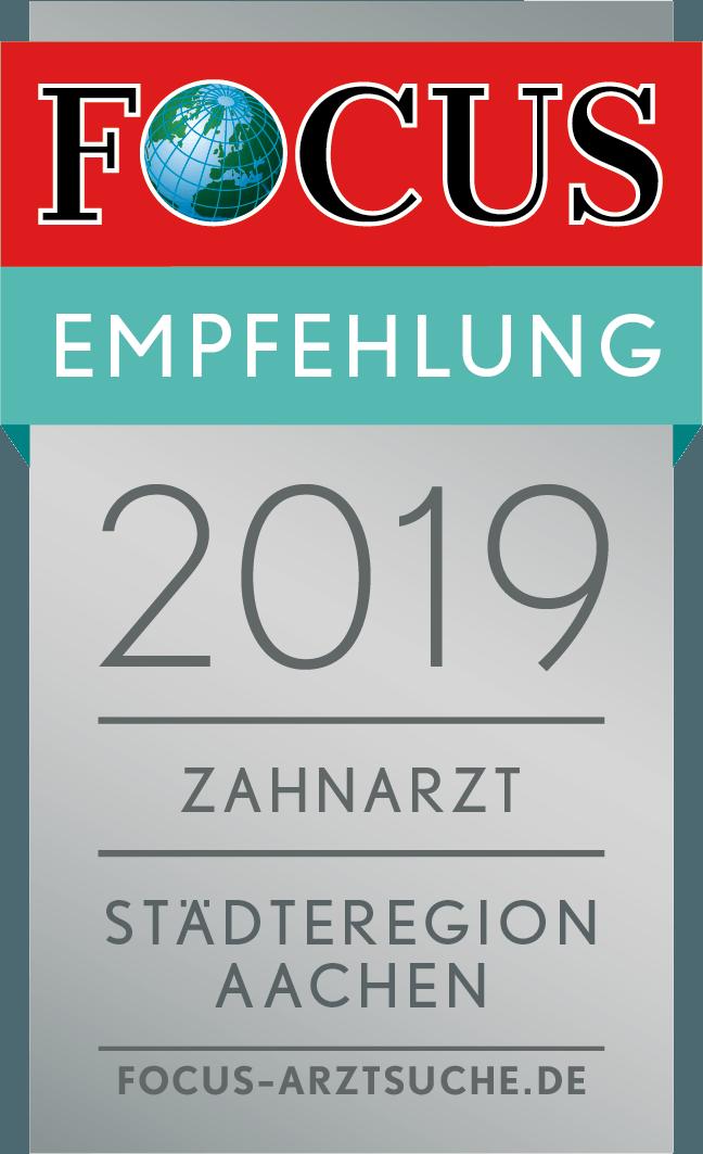 FCGA_Regiosiegel_2019_Zahnarzt_Stadteregion_Aachen
